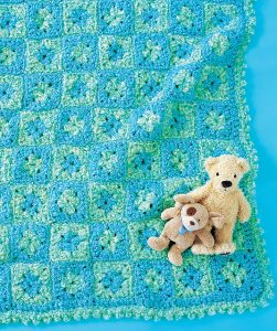 granny square baby pattern