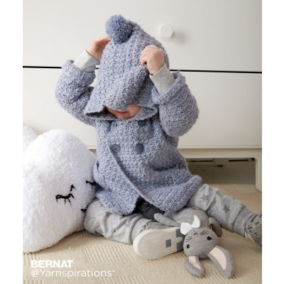 Cozy Crochet Hoodie Free Pattern for Baby