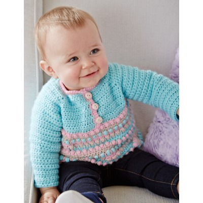 Take it From the Top Pullover Free Crochet Baby Pattern