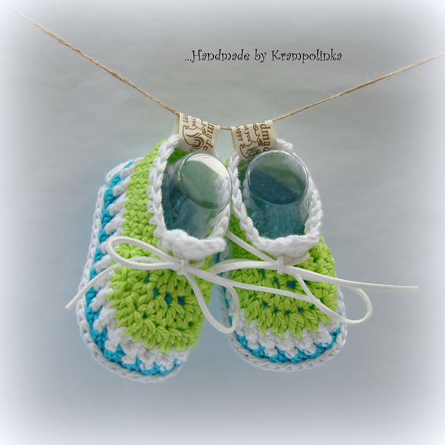 Perla Baby Shoes Free Crochet Pattern