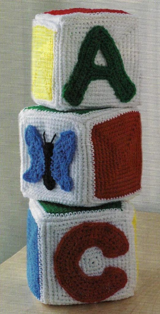 Crochet Baby Blocks ABC
